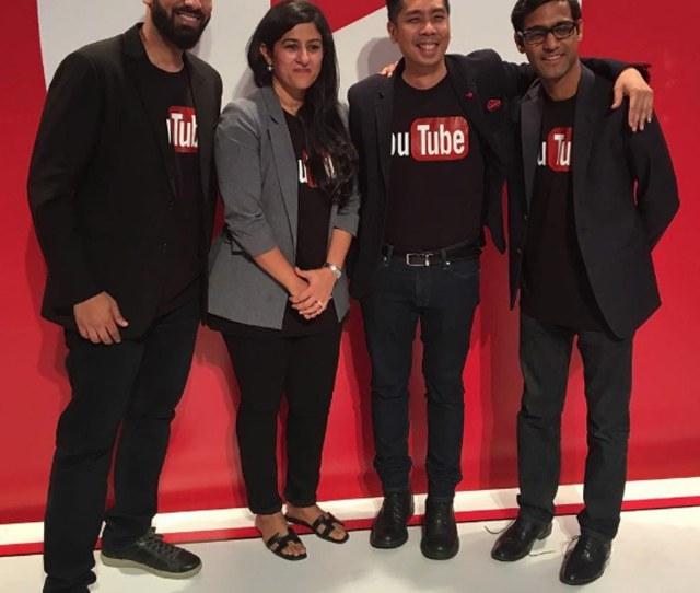 Youtube Team At Youtube Pakistan Launch Event In Karachi Photo Instagram Behtareenpk