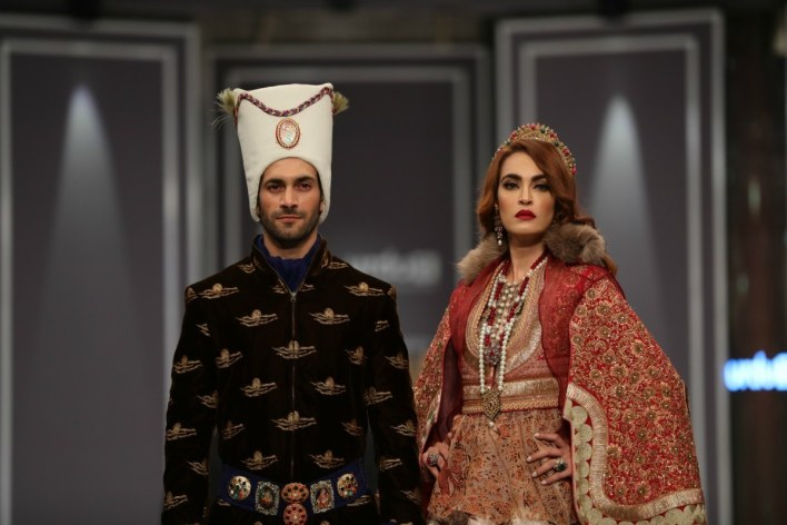 The sight of Shehzad Noor's costume was quite the LOL moment