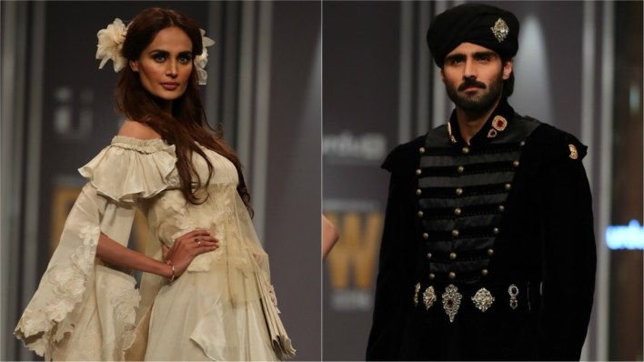 Shameel Ansari and Amir Adnan were roped in to design costumes to promote Urdu1's upcoming soap, Kosem Sultan