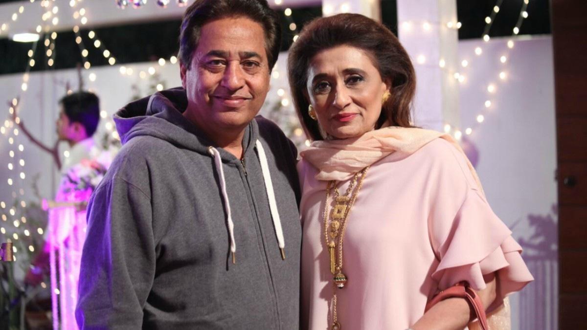 Nazneen Tariq with Syed Noor