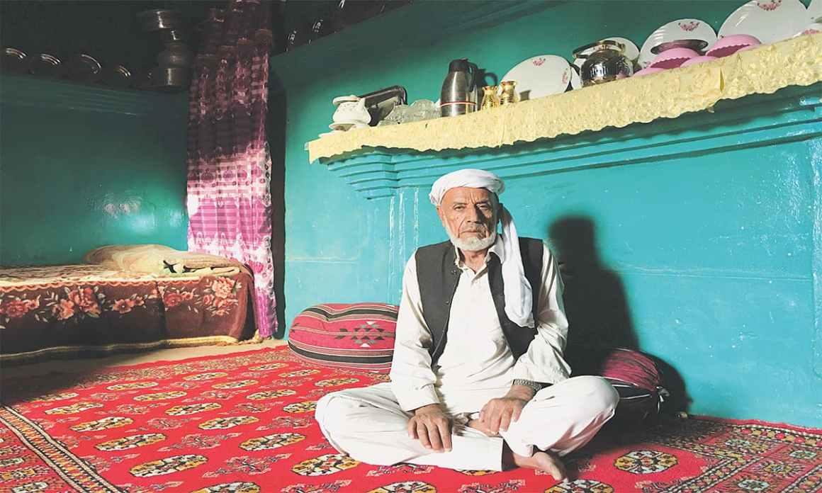 Haji Muhammad Bukhsh at his home in Kharan district, Balochistan | Subuk Hasnain