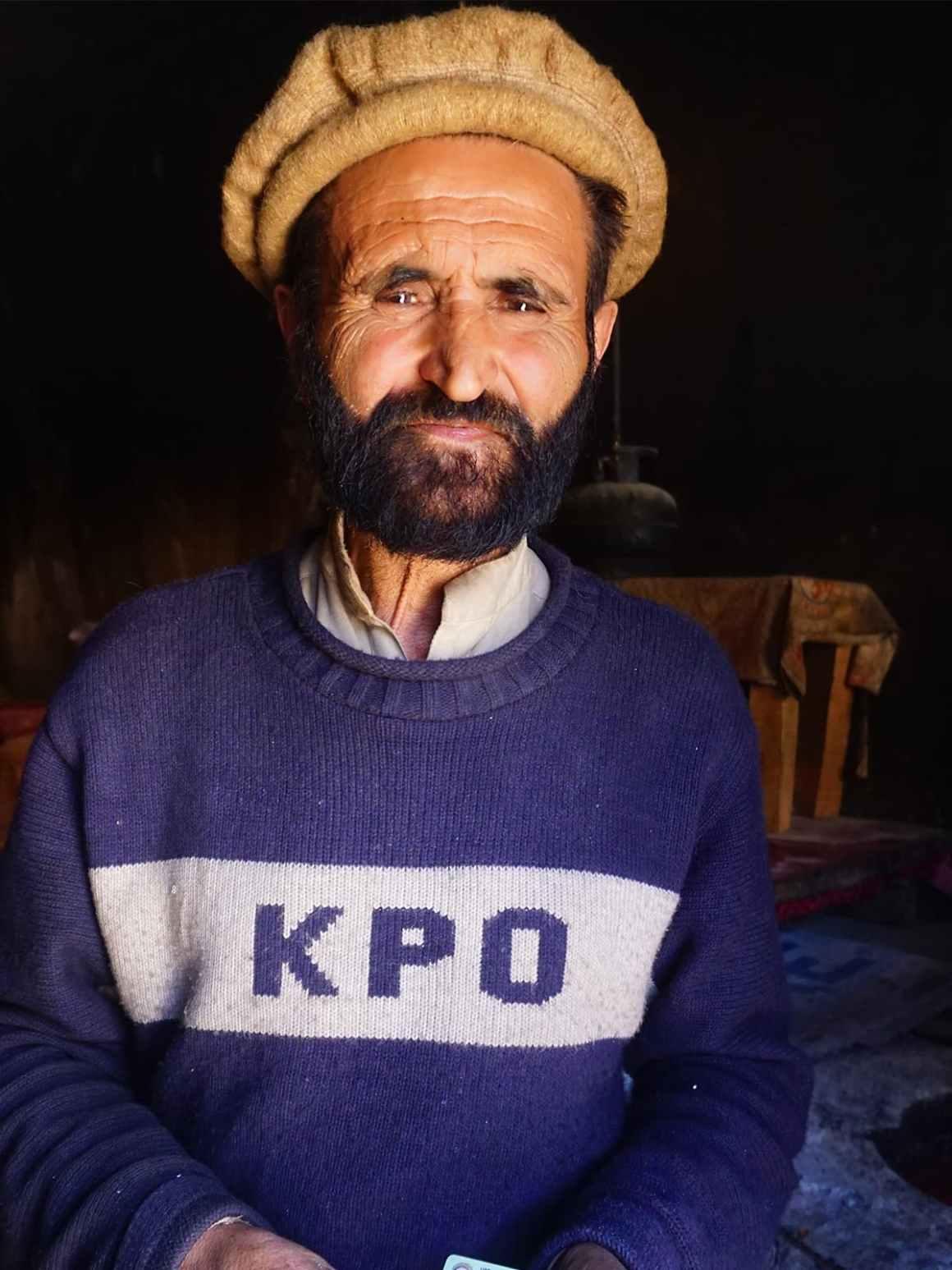 A Wakhi man from Ishkoman Valley in Gilgit-Baltistan