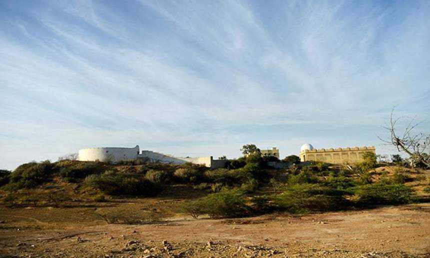 The Parsi graveyard 'Tower of silence' in Karachi | AFP