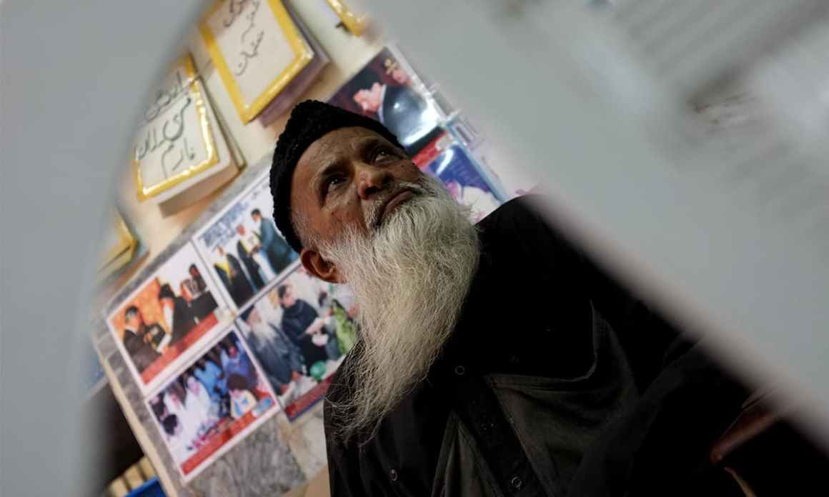 The late philanthropist Abdul Sattar Edhi | Photo by Arif Mahmood, White Star