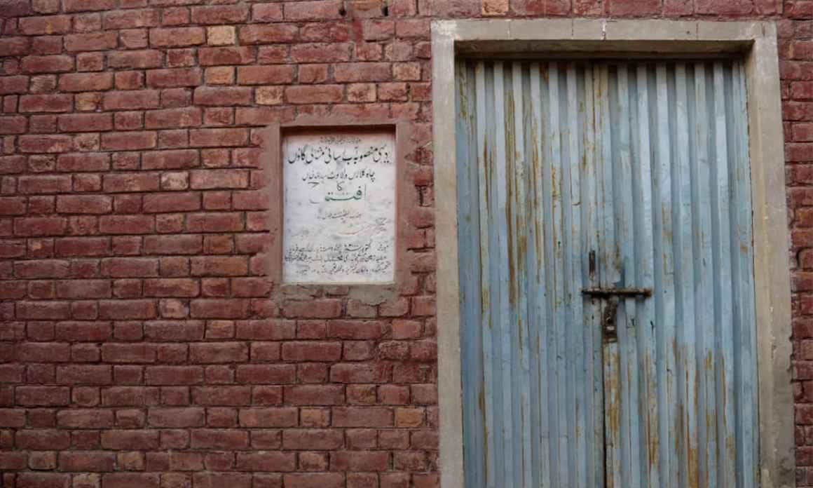 The defunct water filtration plant inaugurated by Lieutenant General (retd) Muhammad Safdar in Kot Asadullah in 2000