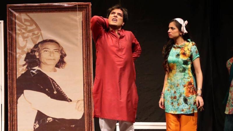 Yasir, in his own way, is brilliant as Akbar