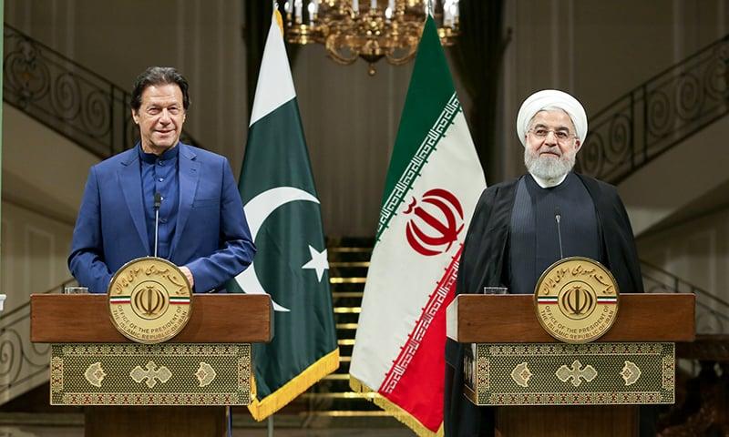 عمران خان کا دورہ ایران