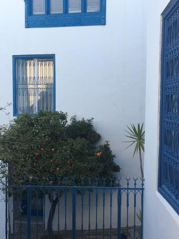 Entrance to Hotel Dar Said.
