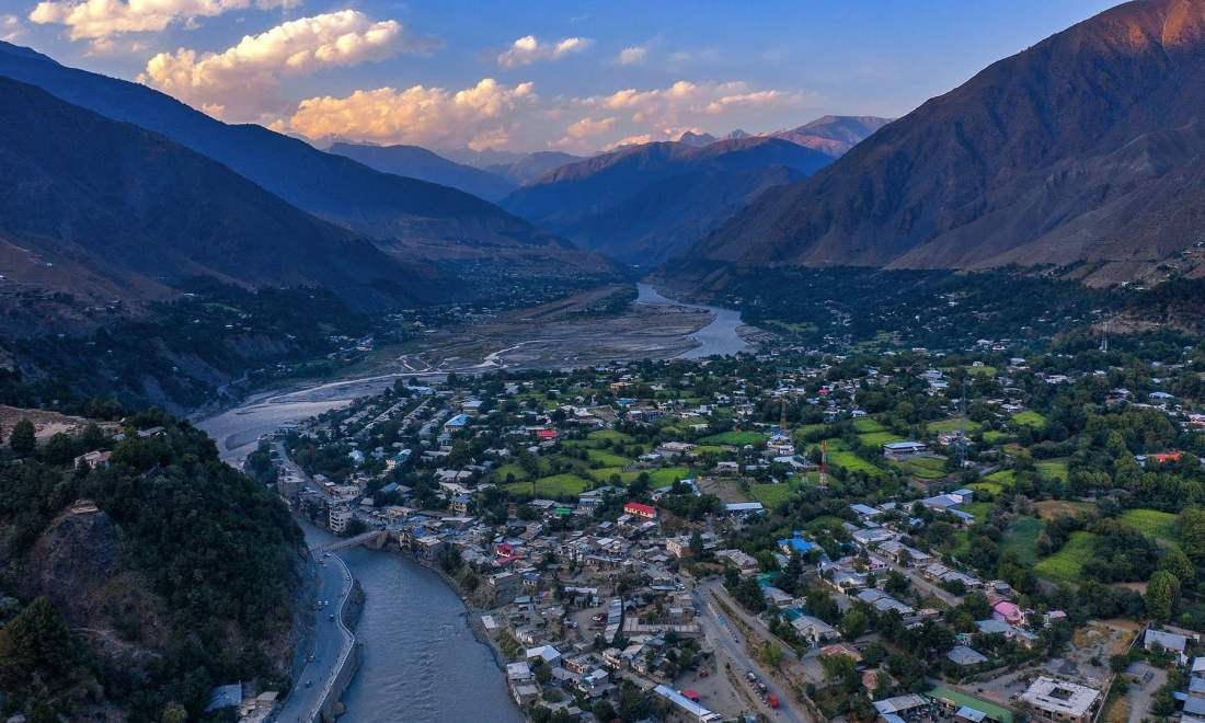 Chitral town. — *Photo by author*