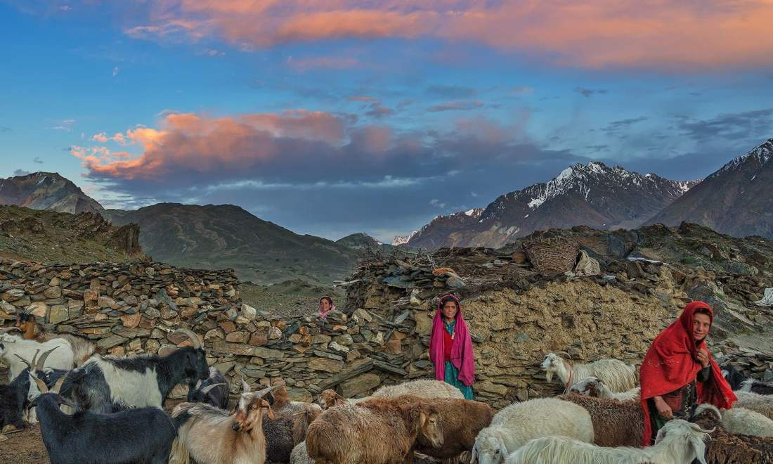 Life in Broghil Valley. — *Photo by author*