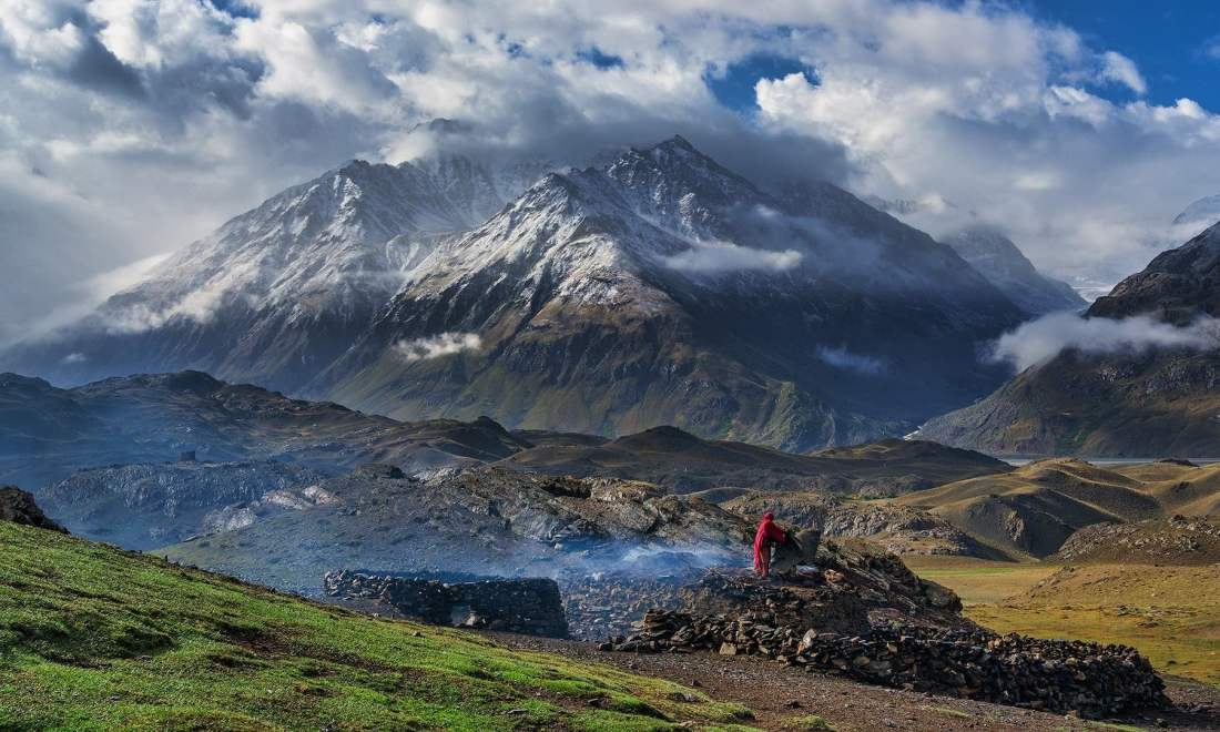 A view of Broghil Valley. — *Photo by author*