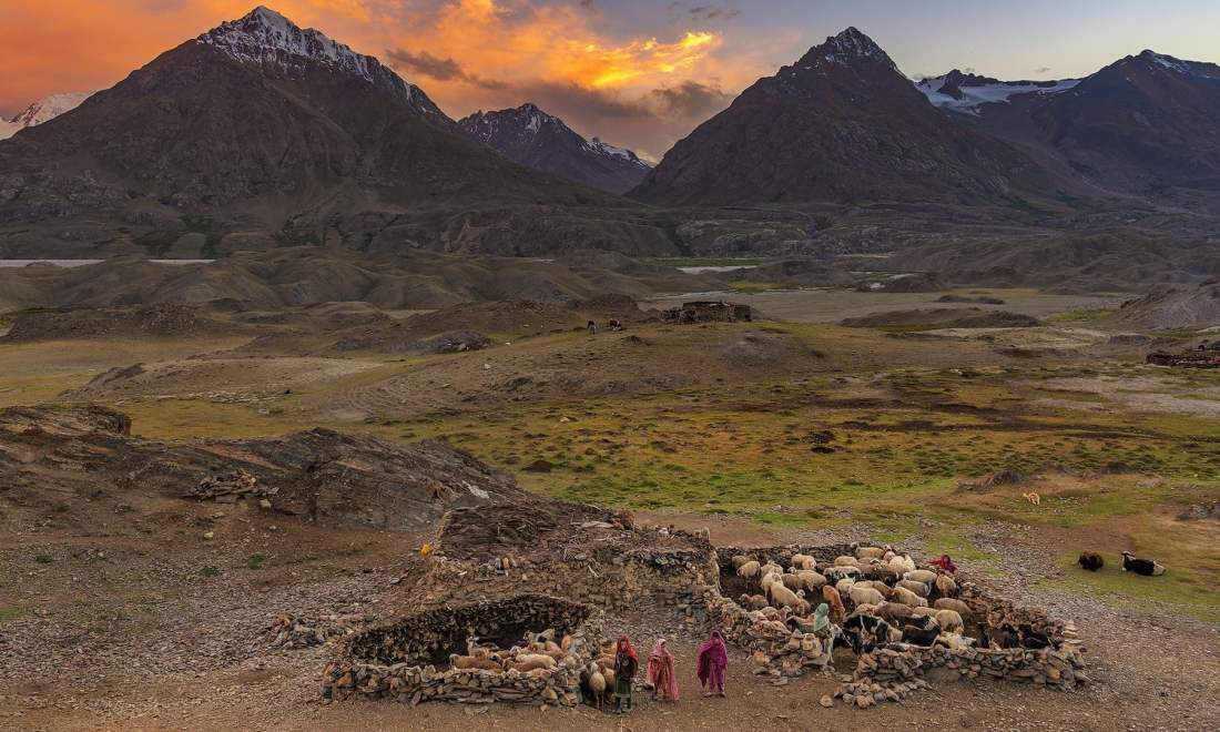 A view of the Shawar Shair Village. — *Photo by author*