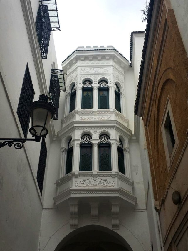The Medina's design has Arab as well as French influences.