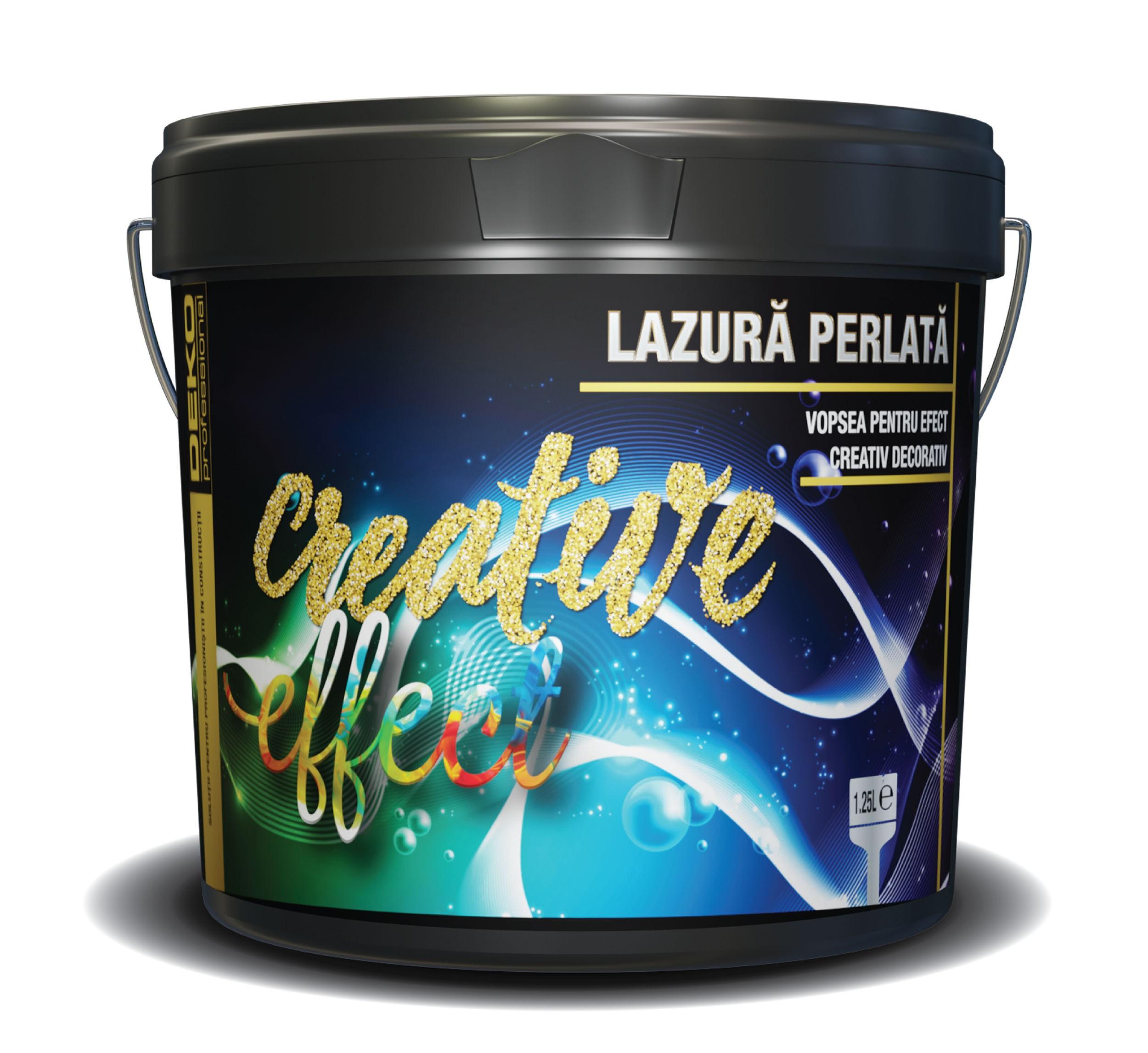 • ușor și confortabil de aplicat •. Dedeman Vopsea Decorativa Deko Creative Effect Lazura Perlata Interior Gold 1 25 L Dedicat Planurilor Tale