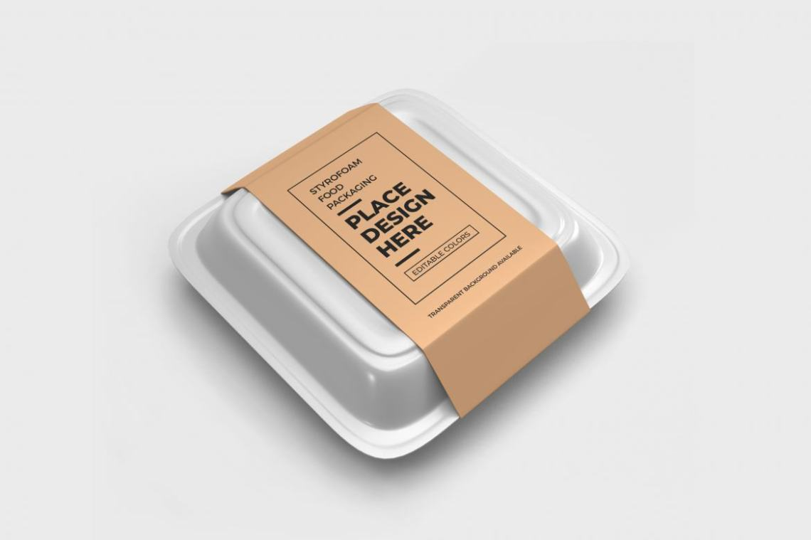 Download Food Box Packaging - Free Mockup Template | Deeezy