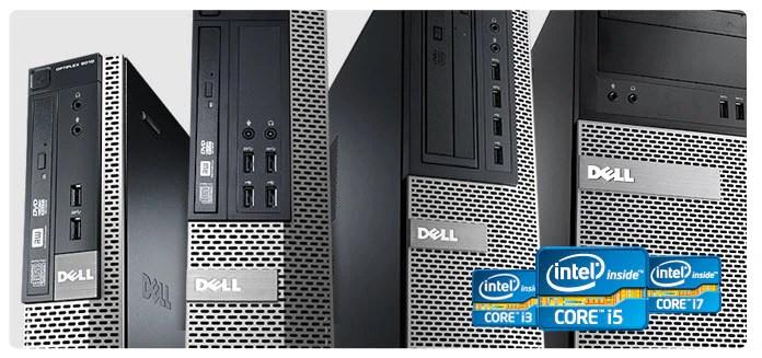 تفاصيل الكمبيوتر المكتبي المتطور طراز Optiplex 7010 Dell