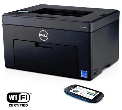 Imprimante couleur Dell C1760nw : naturellement efficace