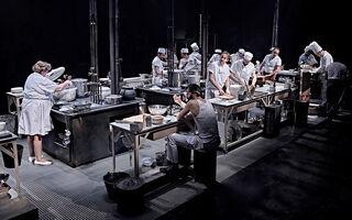El teatro sueña con la cocina
