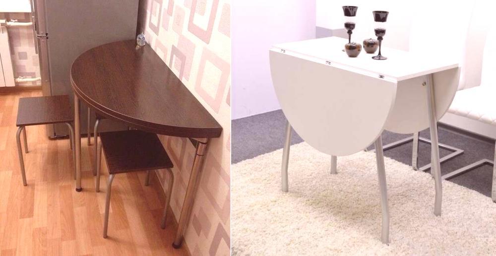 table pliante pour une petite cuisine