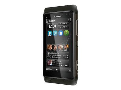 Nokia  N8-00 - 16GB - Dunkelgrau (Ohne Simlock) Smartphone