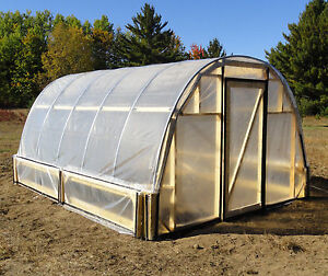 Hoop House  Greenhouses   eBay Greenhouse   Hoop House Plans Easy to do