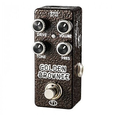 XVIVE GOLDEN BROWNIE DISTORTION PEDAL BY THOMAS BLUG - EFFECT PEDAL - XT1 - New