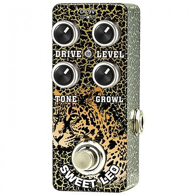 XVIVE SWEET LEO OVERDRIVE PEDAL BY THOMAS BLUG - EFFECT PEDAL -XO2 - New