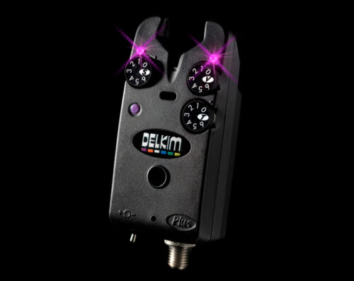 Delkim-NEW-Carp-Fishing-Standard-Plus-Bite-Alarm-FREE-Duracell-9v-Battery