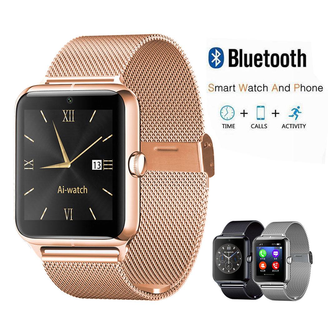 Premium SmartWatch Z60 Uhr Bluetooth Samsung Huawei Android SIM Kamera Handy