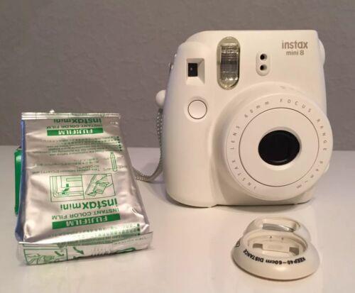 FUJIFILM Instax Mini 8 Sofortbildkamera weiß