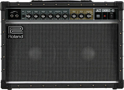 Roland JC-40 Jazz Chorus Stereo 40W Electric Guitar Amplifier