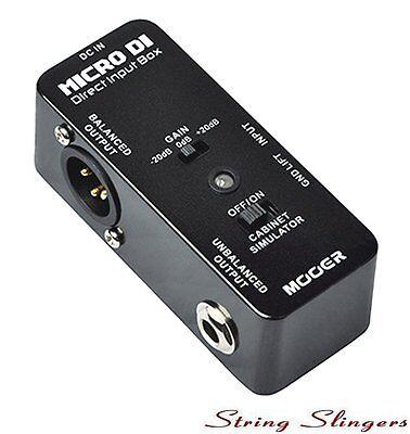 Mooer Micro Compact Micro DI Digital Direct Input Box Pedal, MDI1