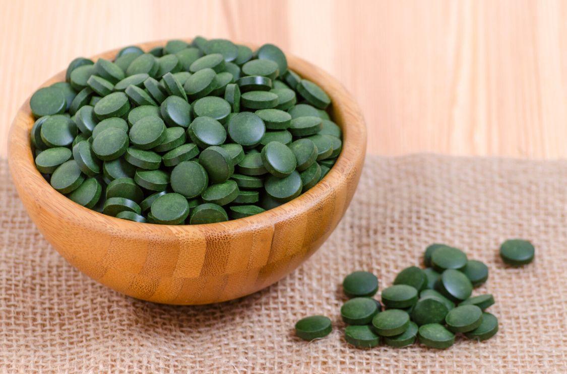 250 g Chlorella Tabs Presslinge Tabletten Alge Mikroalgen 100% rein 1.000 Tabs