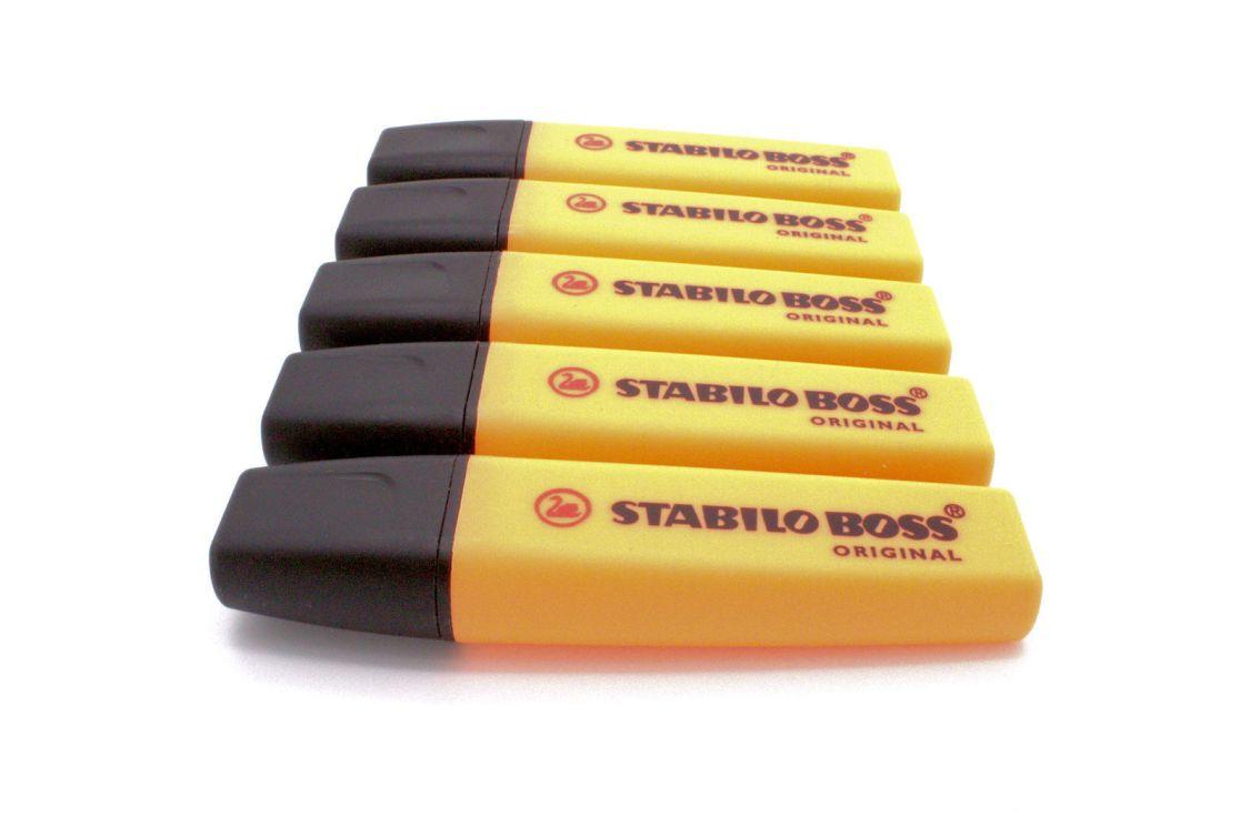 STABILO Textmarker BOSS ORIGINAL, orange, Sparpack wählbar