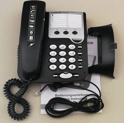 Audioline Tel19 Seniorentelefon / Freisprechtelefon