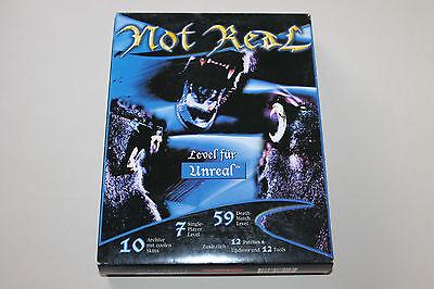 NOT REAL Level CD für Unreal Seltenes ADD ON für den PC im Karton Ab 18 Jahre!!!