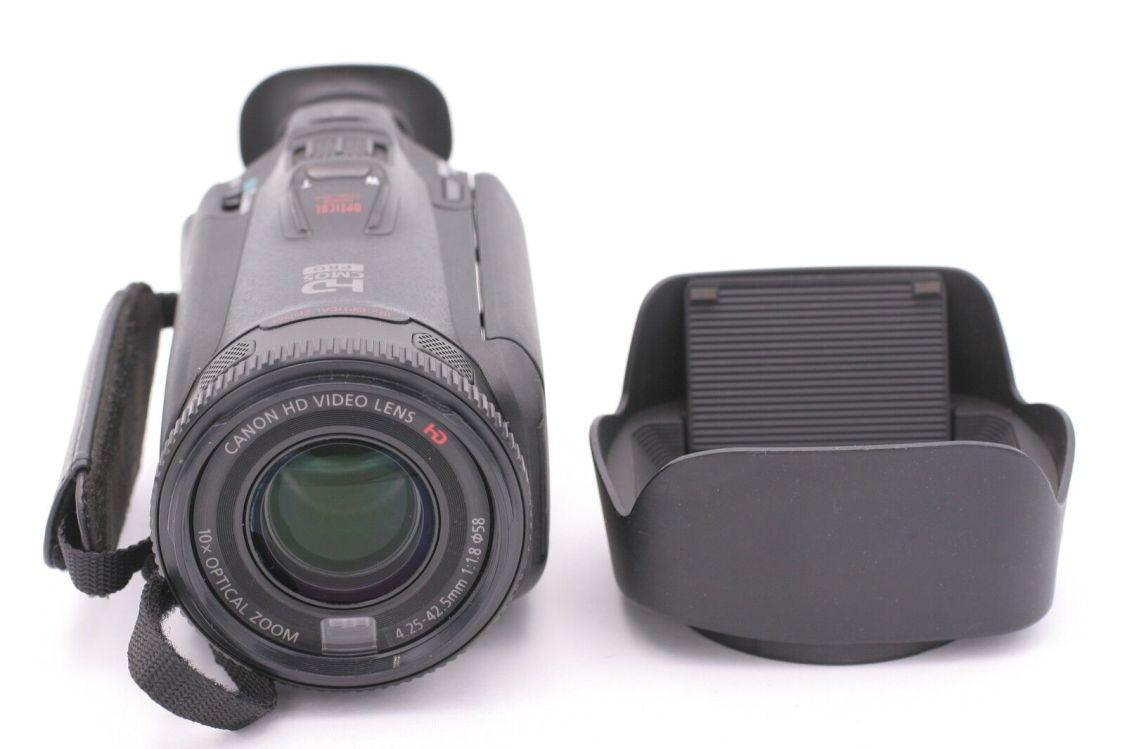 Canon - Vixia HF G20 32GB HD Flash Memory Camcorder - Schwarz