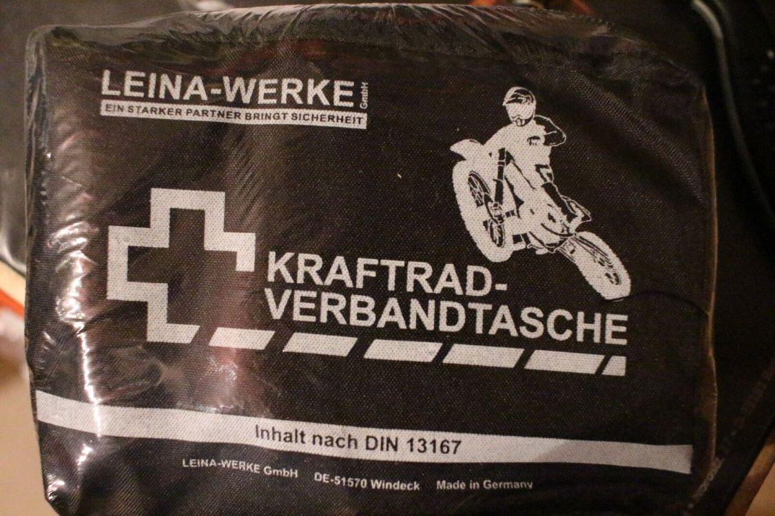 Motorrad Verbandskasten Sanikasten Verbandstasche Sanitätskasten Erste Hilfe