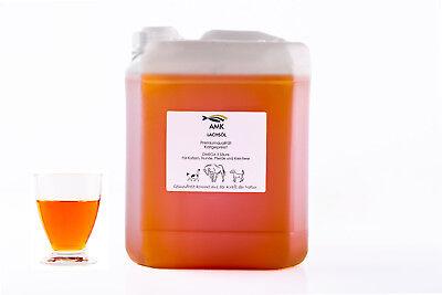 Lachsöl 5L,für Hunde,Katzen,Pferde,Omega3, 100% Naturprodukt,Barfen, 3,76€/1L