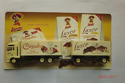 1:87 LKW-MAN-Truck- Sarotti Cassada Luxor Edle Pralinen neuwertig in OVP Nr.129