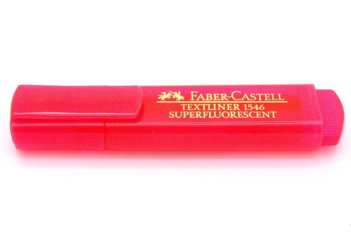 FABER-CASTELL Textmarker TEXTLINER 1546, rot