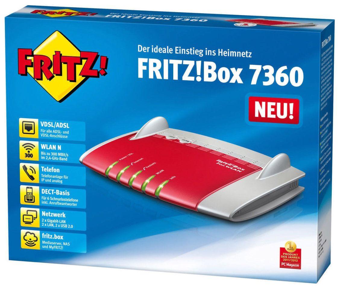 AVM FRITZ!Box 7360 ✔ Wlan Gigabit Router DSL, Modem  ✔ 2 Jahre Gewährleistung ✔