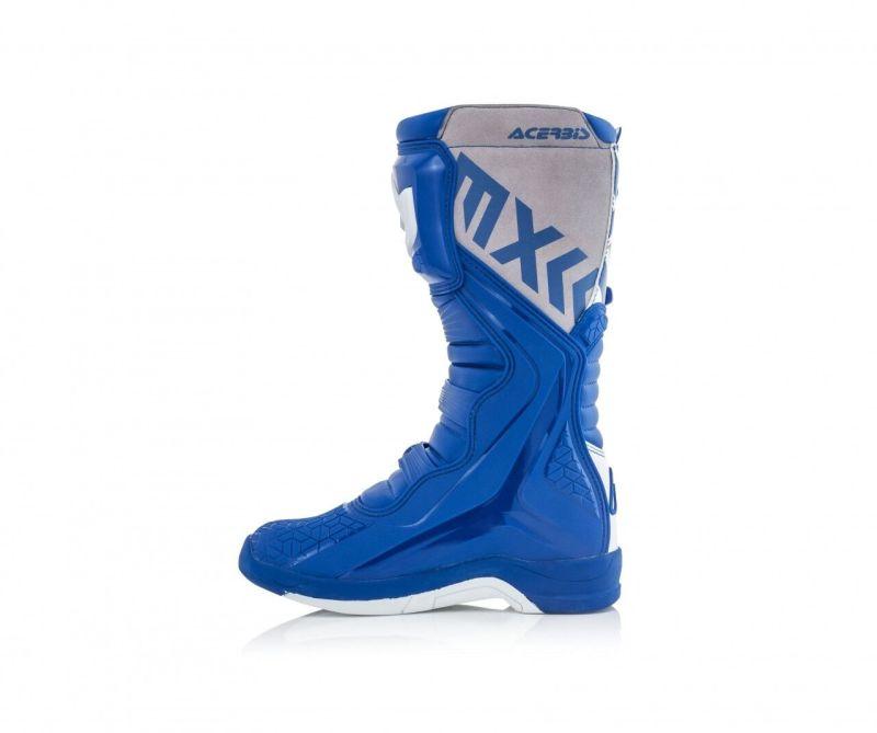 stivali cross enduro Acerbis X-Team colore blu bianco 0022999.245 3