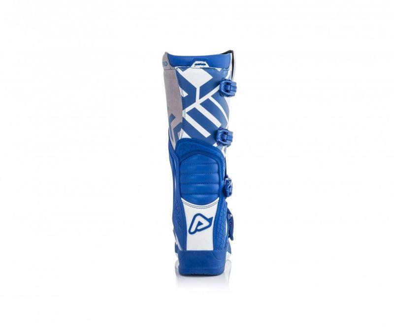 stivali cross enduro Acerbis X-Team colore blu bianco 0022999.245 5