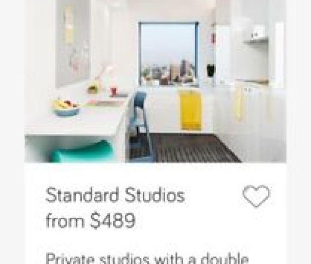 Scape Swanston Standard Studio Rent 449 From Oct Nov To Feb 2019