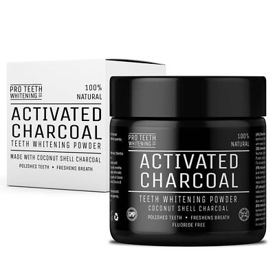 Active Pro Wow Teeth Whitening Charcoal Powder Natural From Coconut Shells