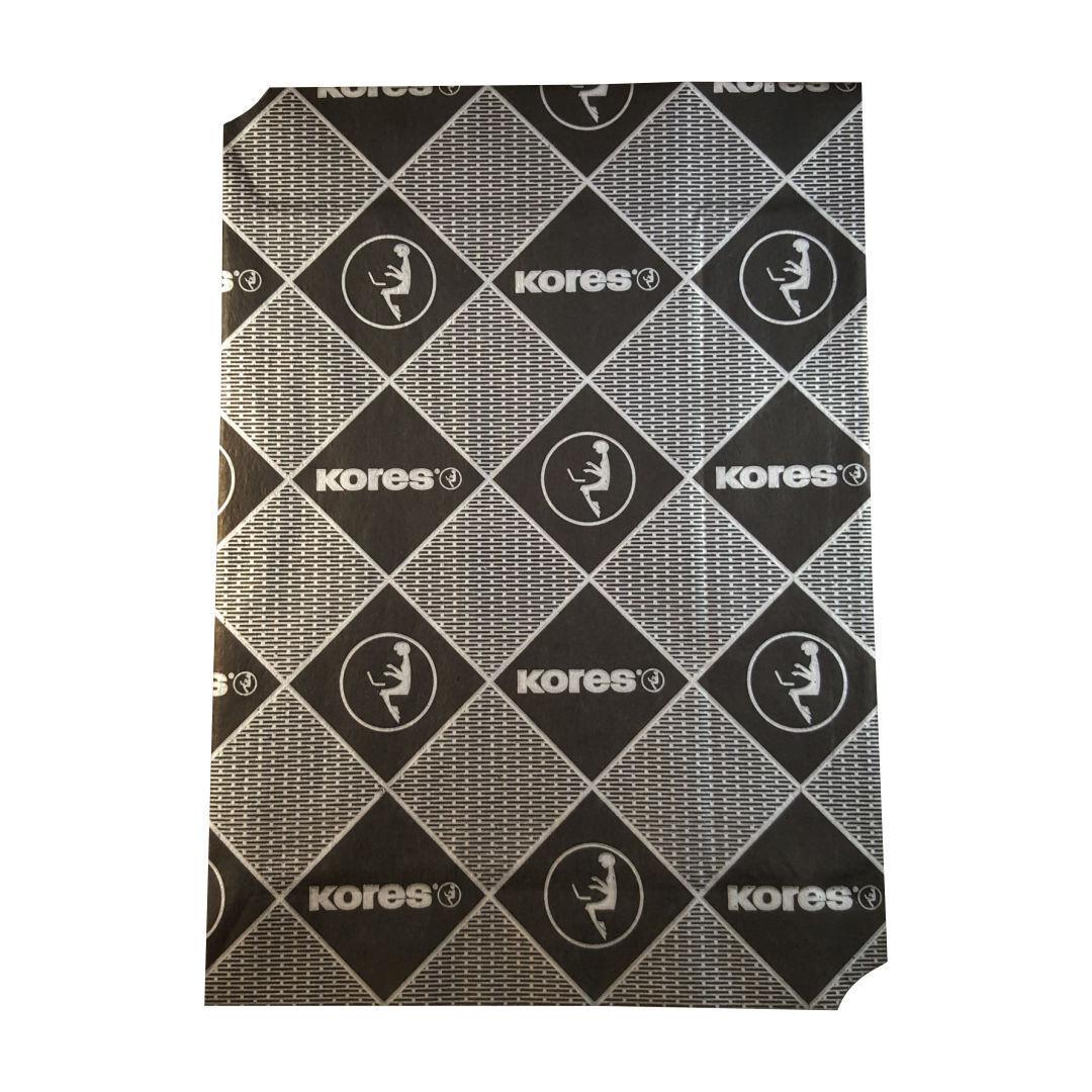 5 Blatt A4 Kores Durchschreibepapier Schwarz Kohlepapier Carbon Schreibmaschine