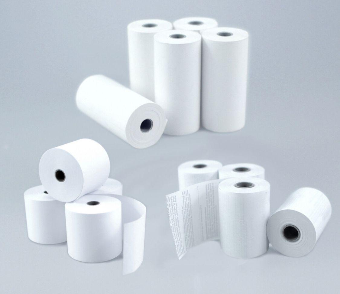 Kassenrollen Thermorollen Papierrollen Additionsrollen Bonrollen - viele Größen