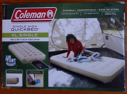 Never Used Coleman Xl Single Air Mattress