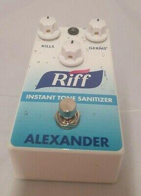 Alexander Pedals - Riff - Instant Tone Sanitizer